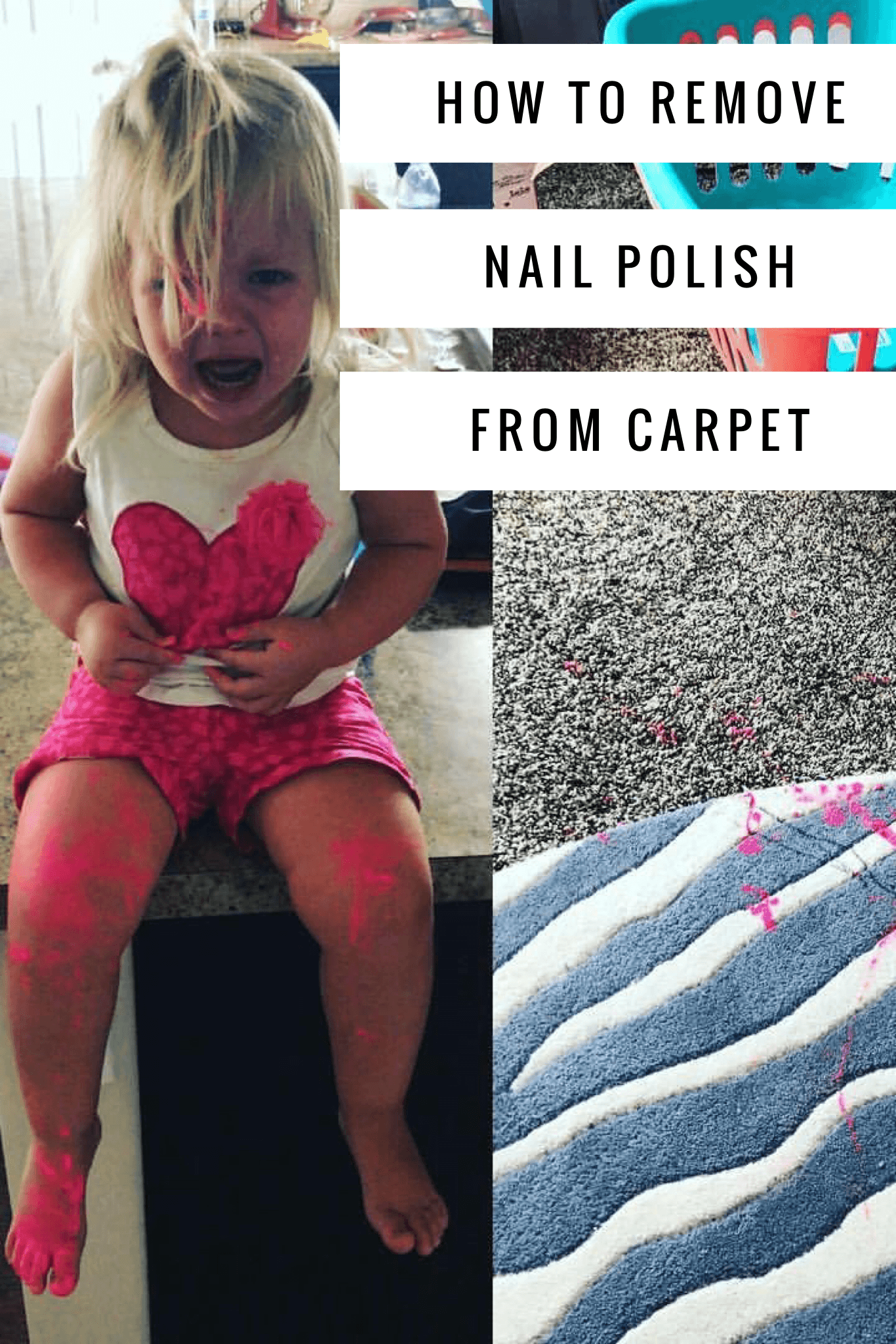 How To Remove Nail Polish From Carpet How We Do